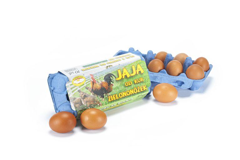 jaja-zielononozki